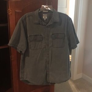 Dark Gray Utility Shirt